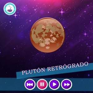 Plutón retrógrado.